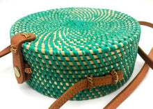 Load image into Gallery viewer, Rattan Bag - Midori - Mandala