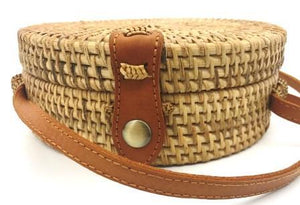 Rattan Bag - Natural - Mandala