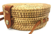 Load image into Gallery viewer, Rattan Bag - Natural - Mandala
