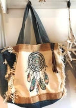 Load image into Gallery viewer, Tote Bag - Dreamcatcher - Mandala