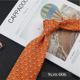 ZC Polyester Silk Business Casual 9cm Tie