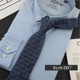 ZC Silk Business Casual 8cm Tie