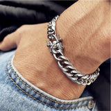 MLYJ  Double Buckle Chain Men's Bracelet