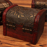 GSF Square Antique Ring Storage Box