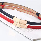 SYC Double Buckle Korean Small Belt