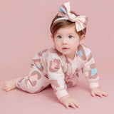 Autumn/Winter Cotton Long Sleeve Jumpsuit for Newborn Baby