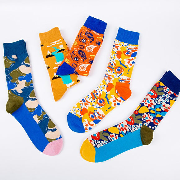 Abstract Pattern Unisex Socks