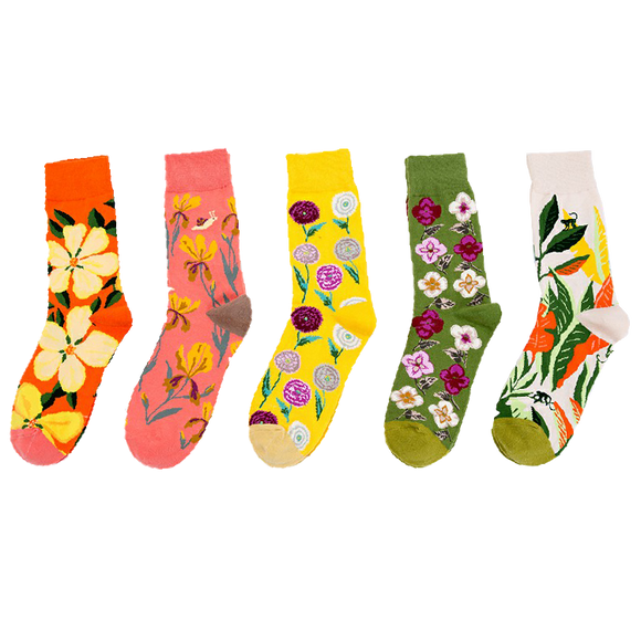 Bright Color Series Socks
