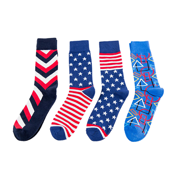 JSSK Personality Striped Socks