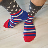 Creative Striped Dot Socks