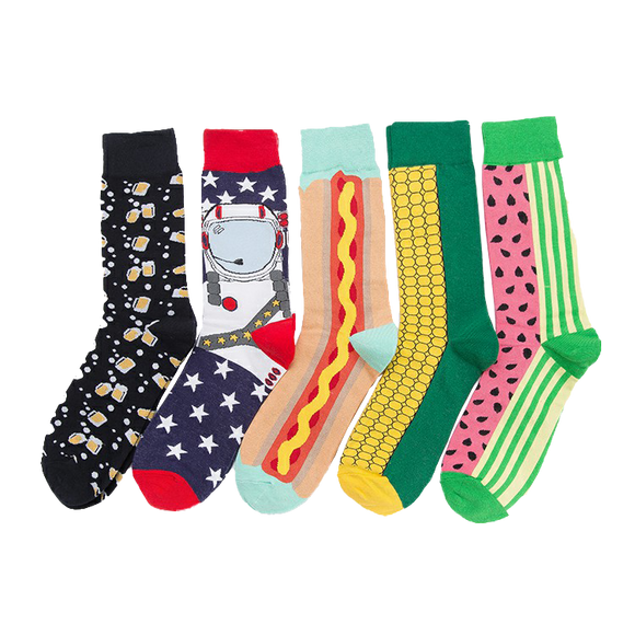 Fashion Creative Pattern Unisex Socks