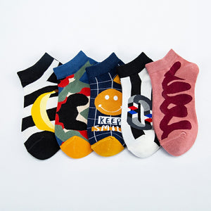 Stylish Pattern Series 1 Ship Socks