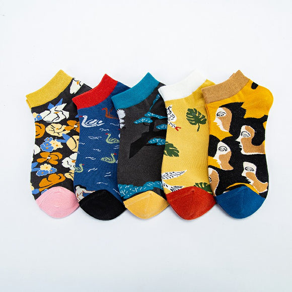 Stylish Pattern Series 2 Ship Socks