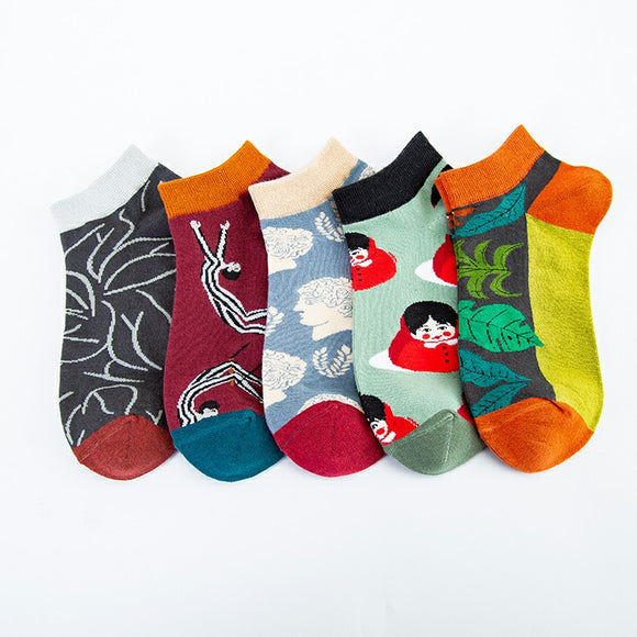 Stylish Pattern Series 3 Ship Socks