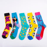 Color Pattern Unisex Socks