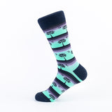 Dark Color Pattern Unisex Socks