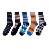 JSSK Striped Block Socks