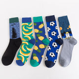 Multi-pattern joker fashion men's socks