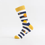 Universal pattern individual character fashion men's socks