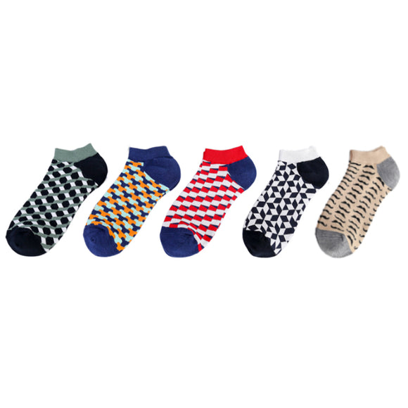 Small Quadrilateral Ship Socks