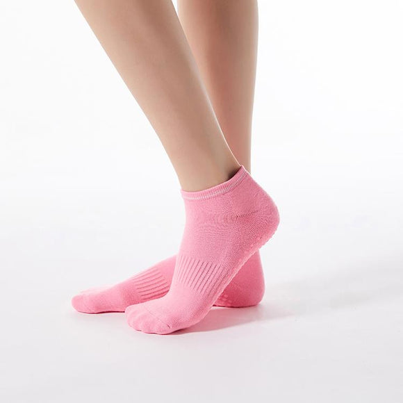 HJ Non-Slip Terry Round Head Girdle Dispensing Yoga Socks