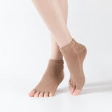 HJ Non-Slip Open Toe Dance Dispensing Yoga Socks