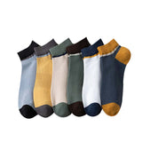 Casual ethnic socks striped cotton boat socks