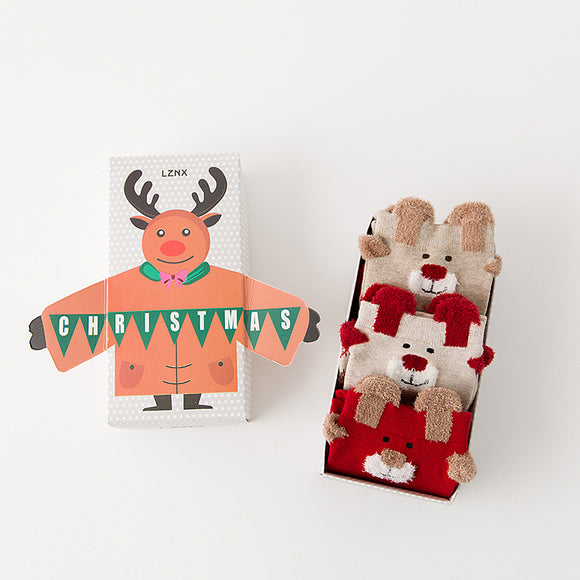 Christmas Series 1 Moose Socks