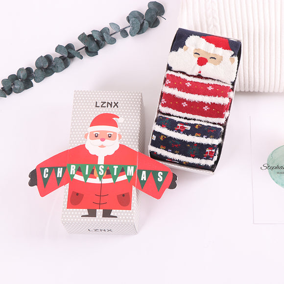 Christmas Series 2 Claus Socks