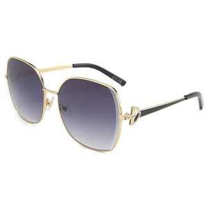DF Half Round One-piece  Mosaic Diamond Sunglass