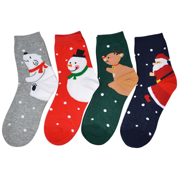 JP Christmas Spot Socks