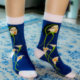 Red Style Character Girl Socks