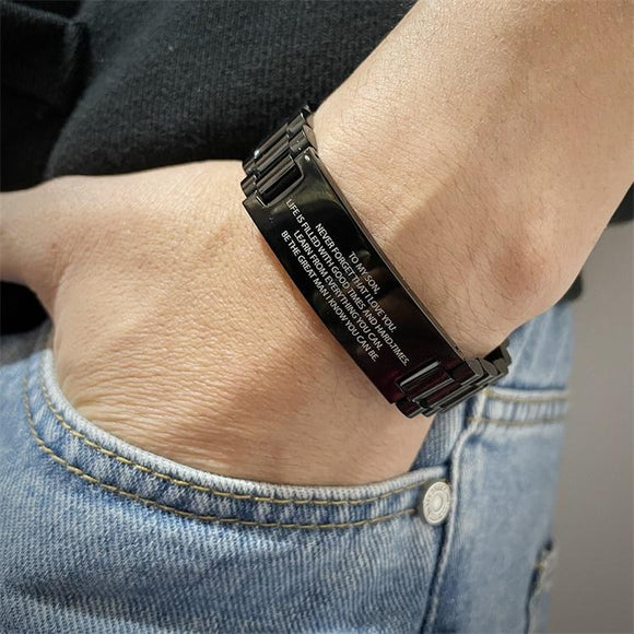 MLYJ Double-sided Adjustable Men Bracelet