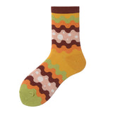 Colorful Ripple Lady Socks