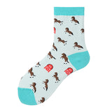Strange Animal Lady Socks