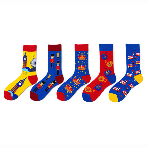 England Travel Socks
