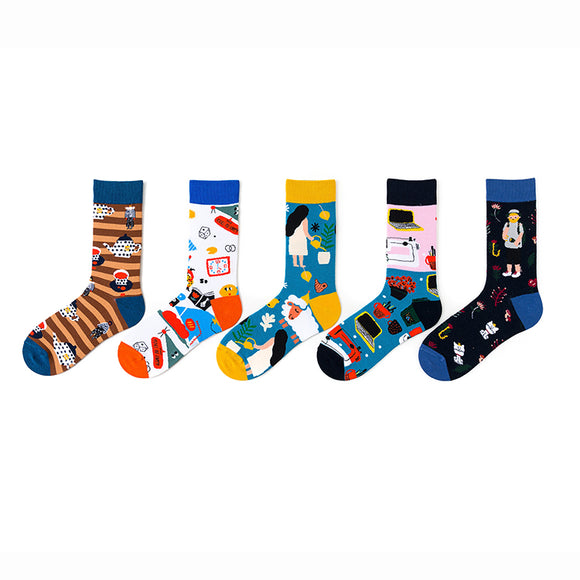 Leisure Afternoon Girl Socks
