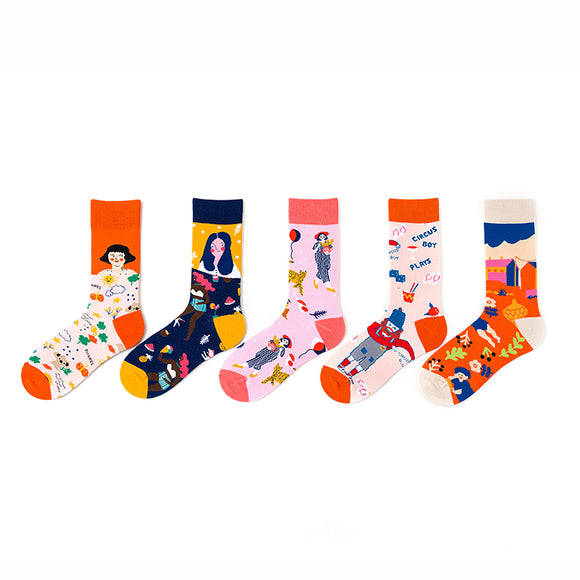Happy Life of Girl Socks