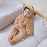 Warm and Thickened Winter Baby Onesie