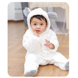 2020 New Fall Plush Baby Onesie