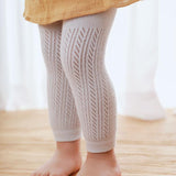 Plain Cotton Child Tights