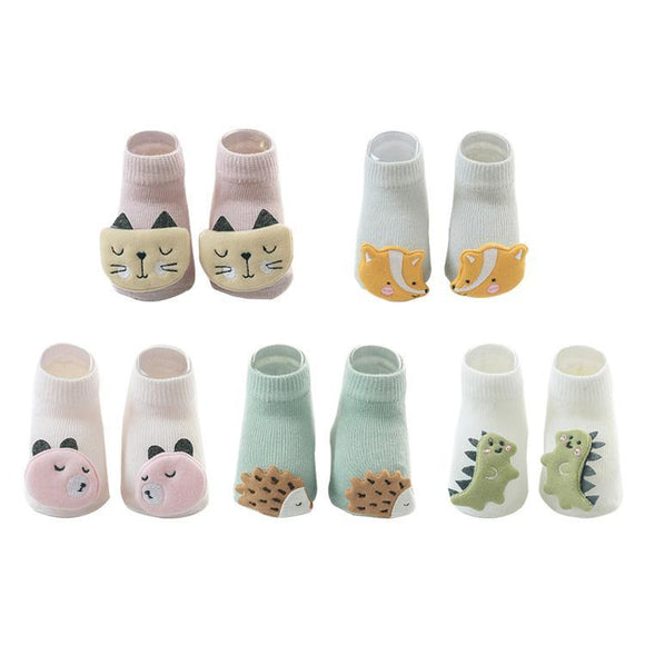 Animal Doll Children Socks