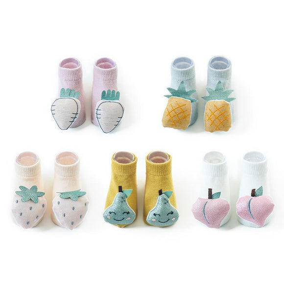 Fruit Doll Children Socks