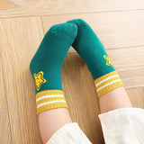 Smiley Five-pointed Star Children Socks