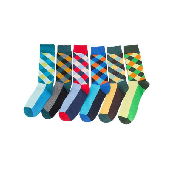 Color Diamond Socks