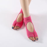 Two Toes Backless Yoga Socks