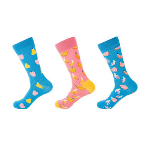 Colorful Fruits S1 Socks