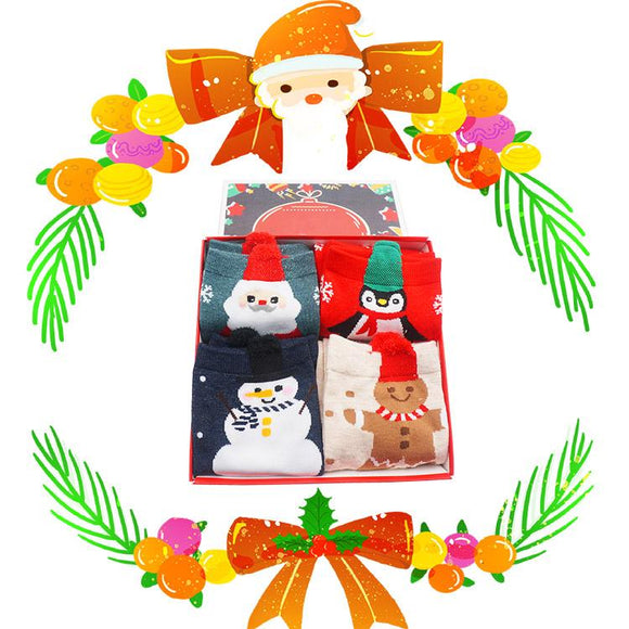 Gift Box Christmas Socks S3