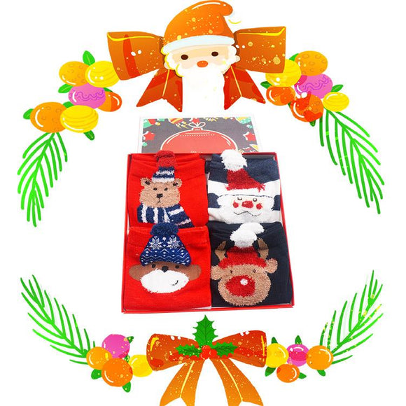 Gift Box Christmas Socks S4