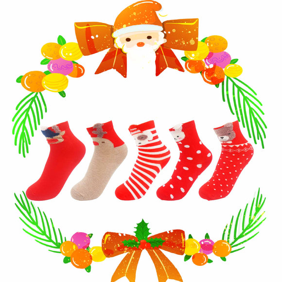 Christmas Animals Children's Socks